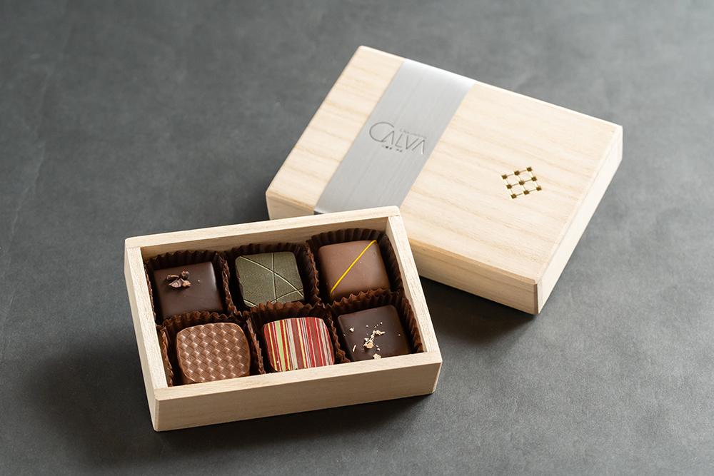 ショコラ6ヶ箱